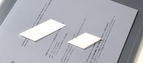 クリアケース・ブリスター製造 シール印刷
